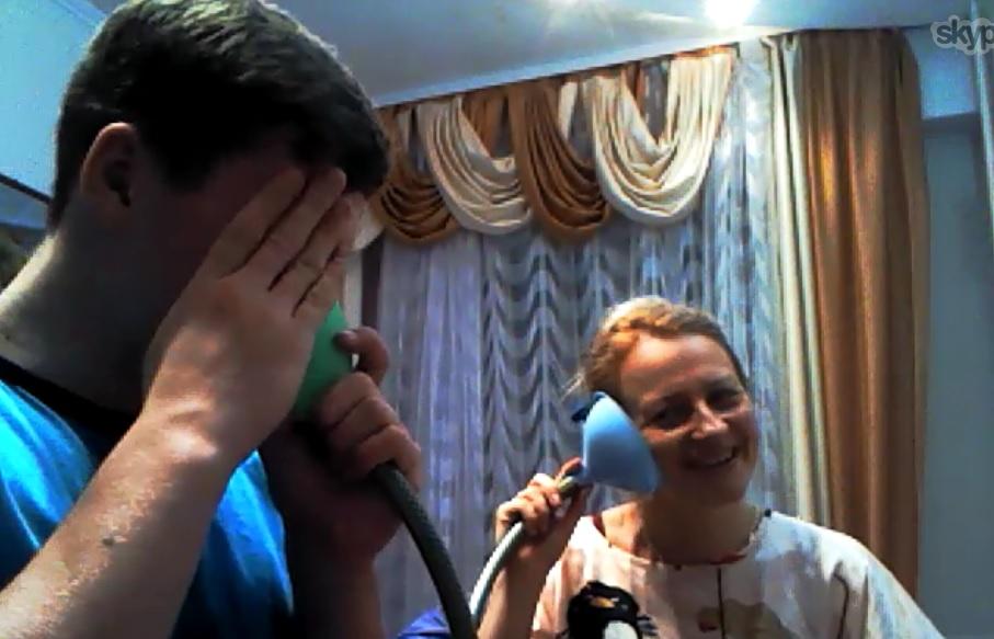 иняз-спорт Слуховая трубка Н.Ш. Бородянского